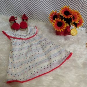 Toddler girl Mexican dress style